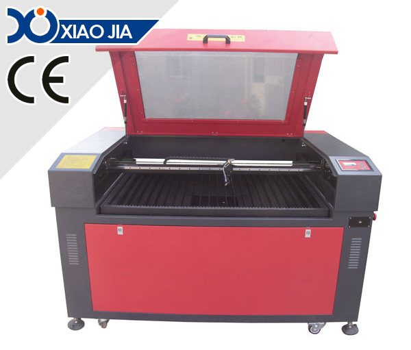 Motorized up and down platform laser engraving and cutting machine XJ1280S