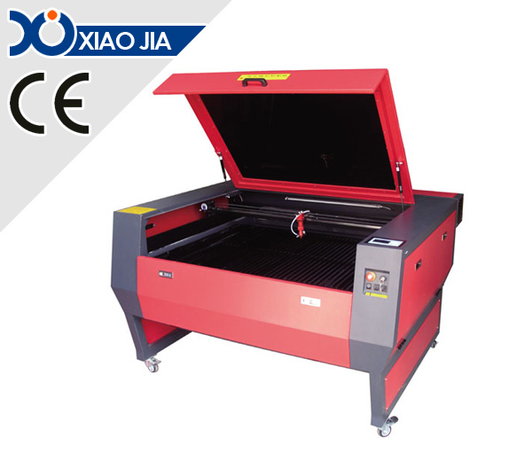 Motorized up and down table laser engraving and cutting machine XJ1390E