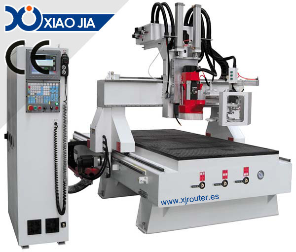Multi-function woodworking CNC Router XJ1325H ATC